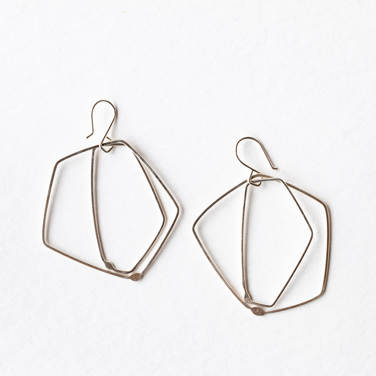 Sterling Silver Minimalist Earrings - ES02 - Sold by Chic & Basta