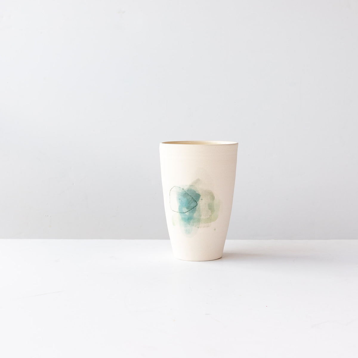 Hand Painted Porcelain Vase - Sold by Chic & Basta