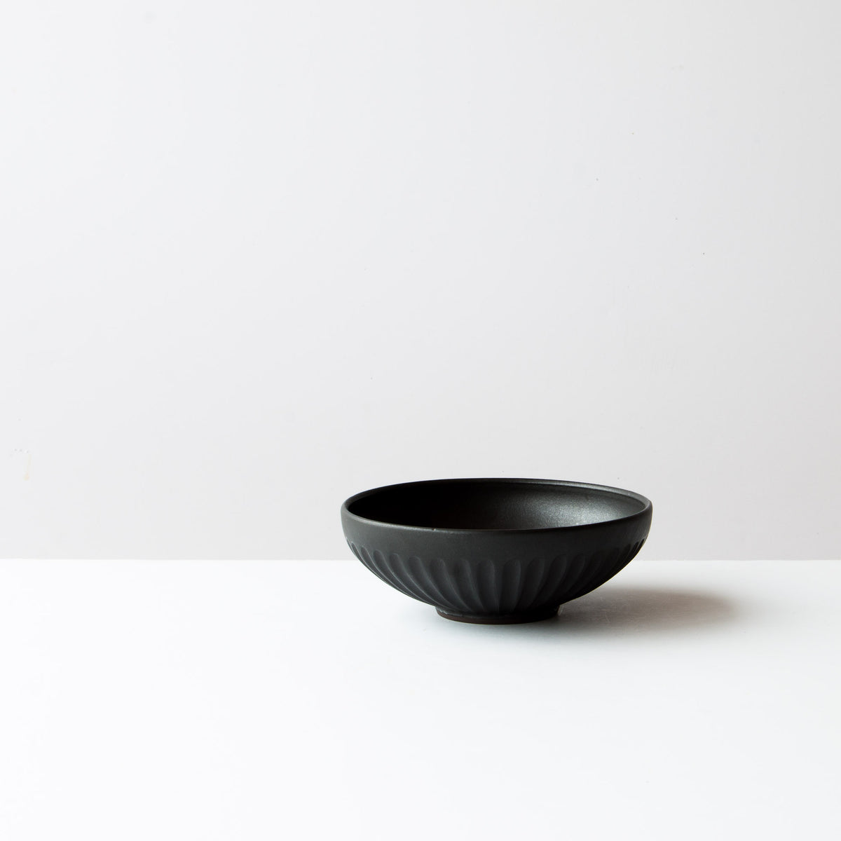 Black Colour - Small Handmade Ceramic Bowl - Hand Thrown in Canada - Chic & Basta