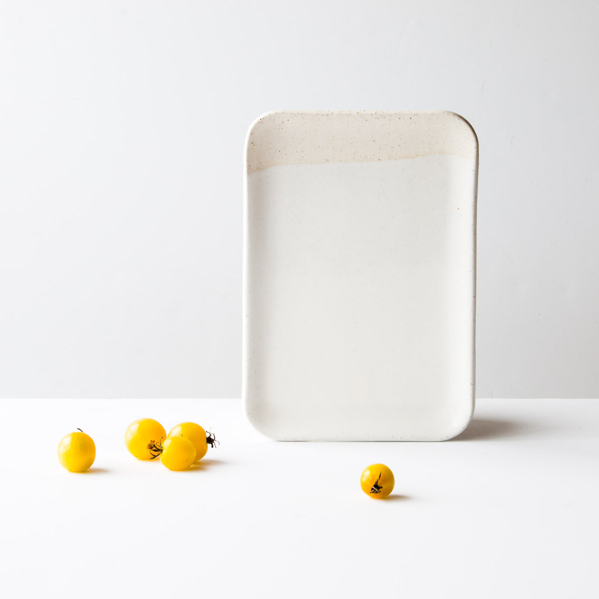 Handmade Ceramic Small Square Serving Board - Sold by Chic & Basta