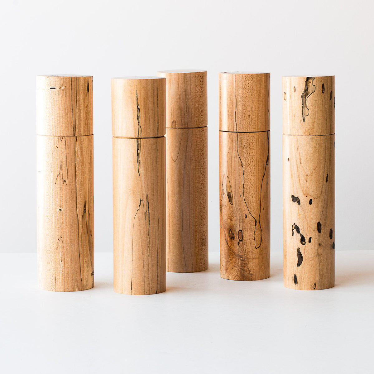 Spalted Maple Wood Spices & Pepper Mill