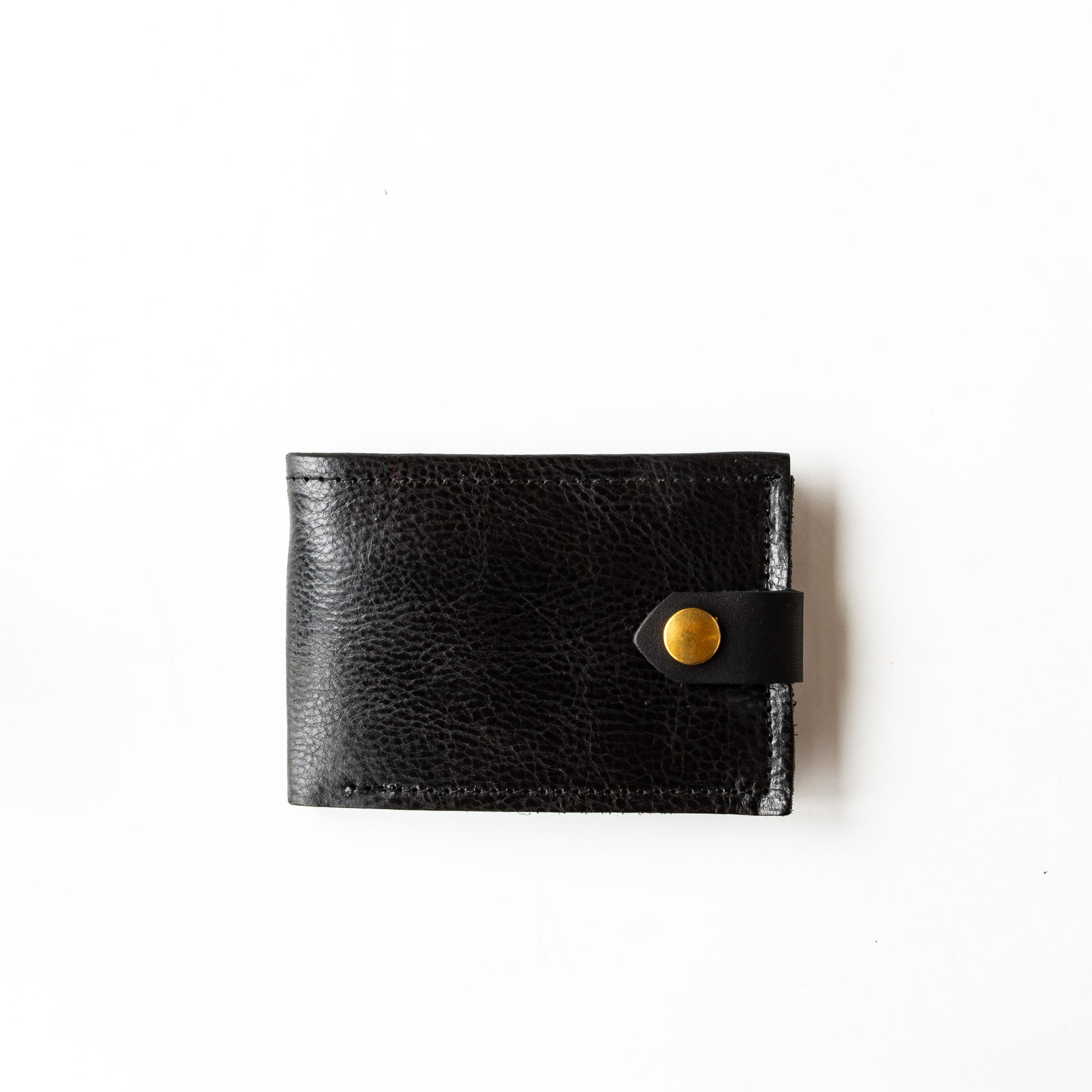 Oiled Black - St-Joseph - Classic Unisex Wallet / Card Holder - Sold by Chic & Basta
