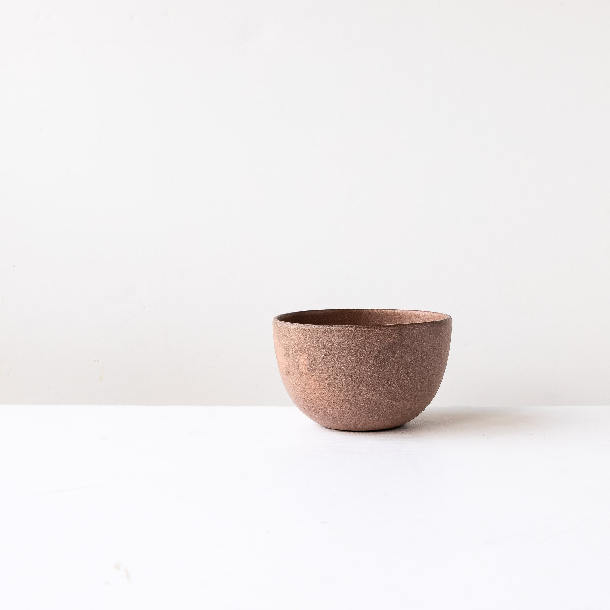 Three Handmade Stoneware Breakfast Bowls - Sold by Chic & Basta