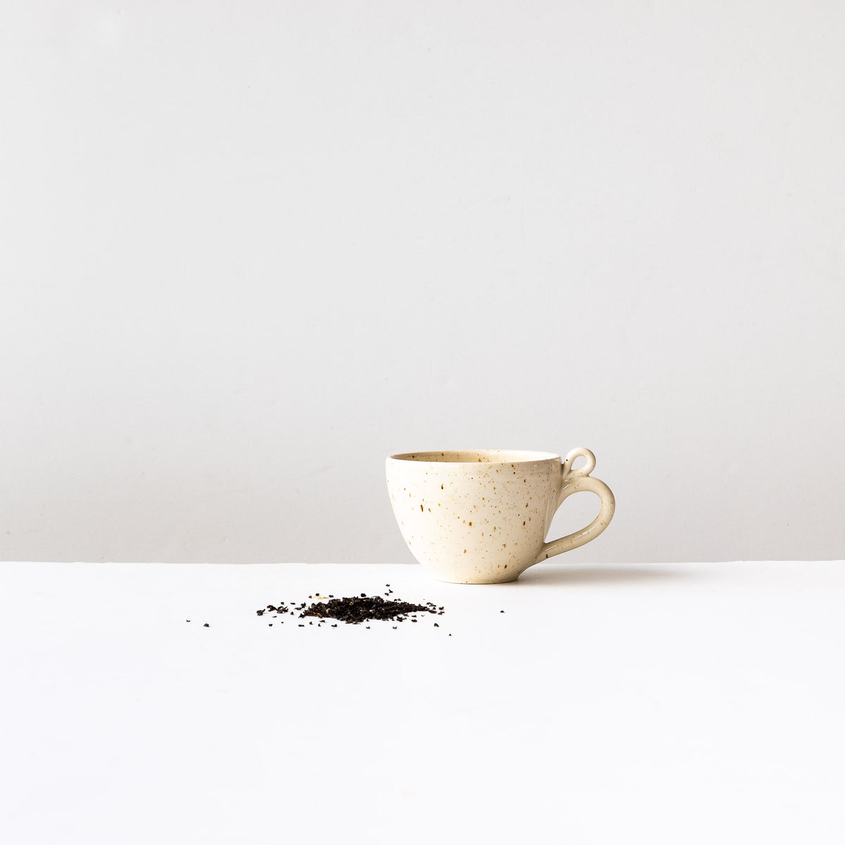 Swan - Handmade Stoneware Cappuccino / Tea Cup - Sold by Chic & Basta