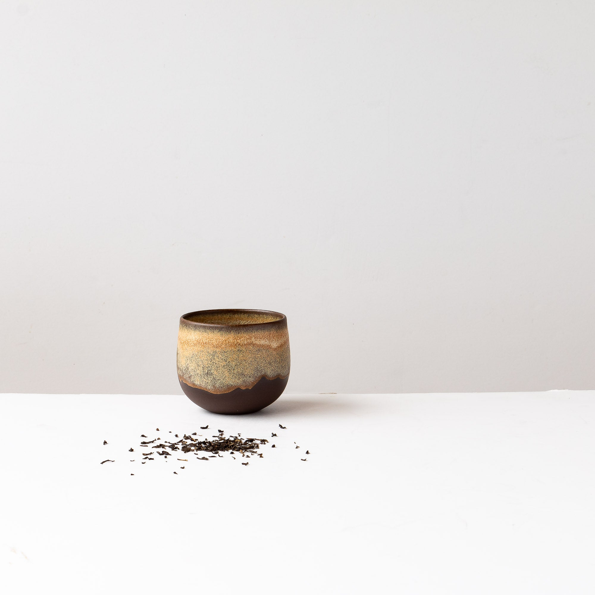 Handthrown Tea Bowl in Black Stoneware - Sold by Chic & Basta