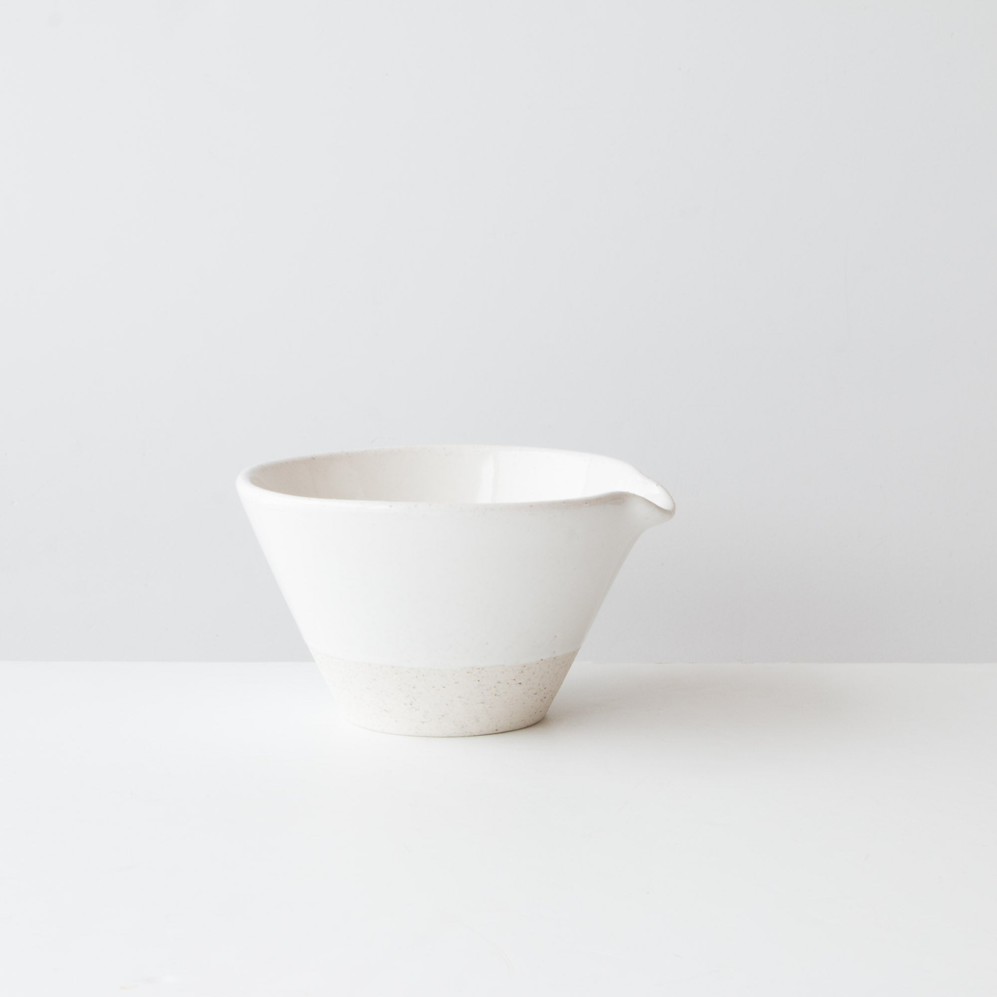Handmade Two Tone Ceramic Mixing Bowl - 1.5 liter - Sold by Chic & Basta