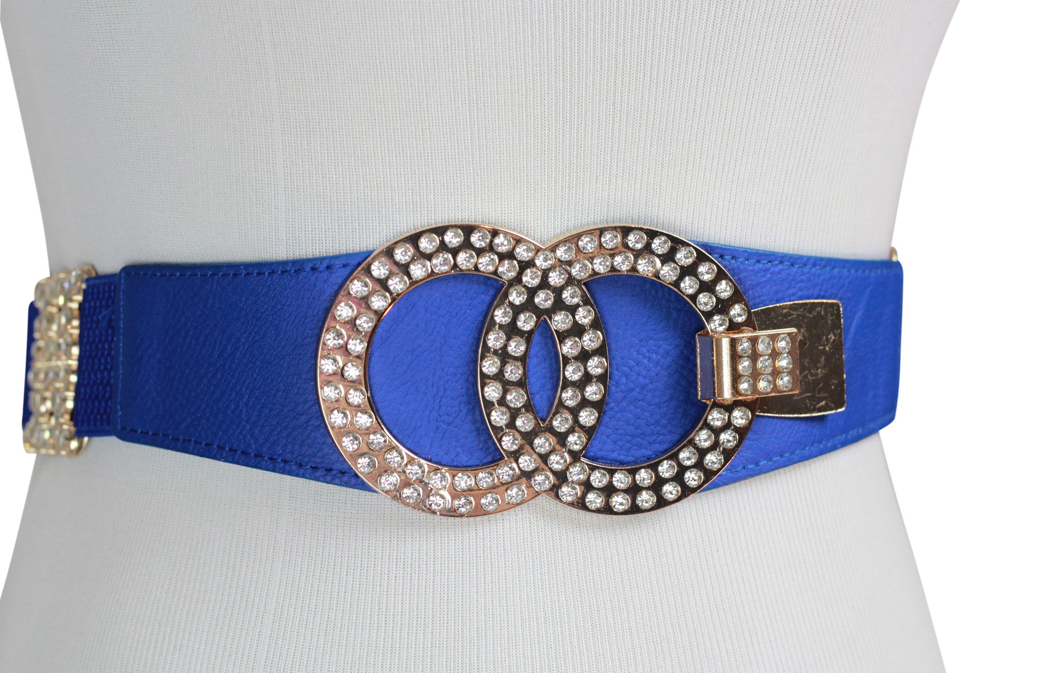 Sparkly Blue Hustle Belt