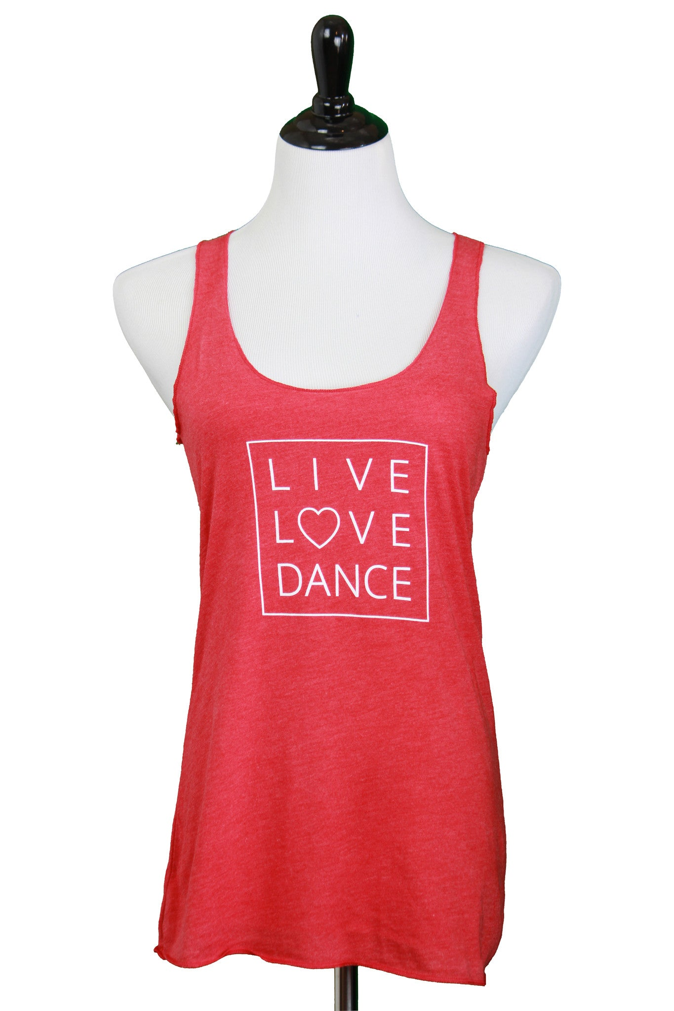 Live Love Dance Racerback