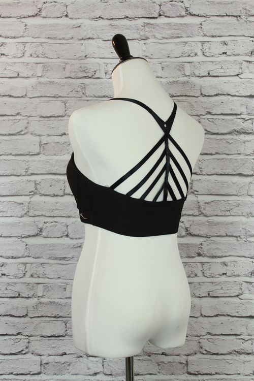 Strappy Back Moisture Wicking