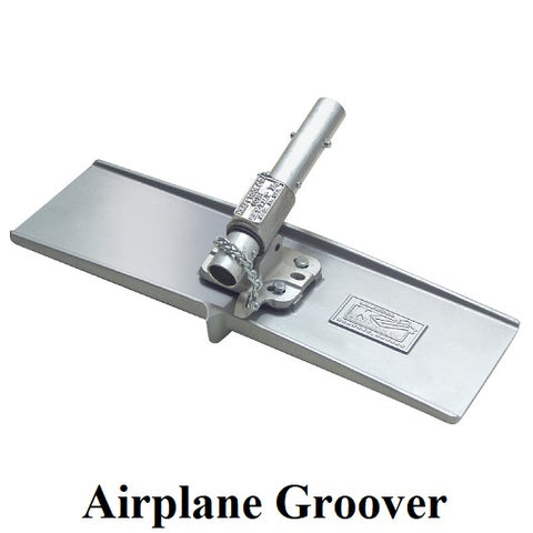 Concrete Airplane Groover