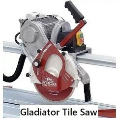 Tile Tools - Gladiator Tile Saw