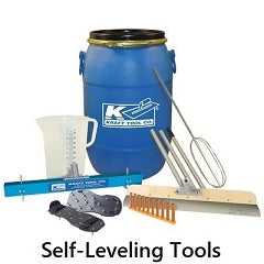 Tile Tools - Self-Leveling Concrete Tools