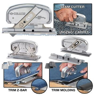 Carpet Tools - Seam Cutter Plus