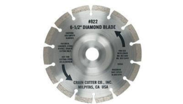 Jamb Saw - 822 Diamond Undercut Blade