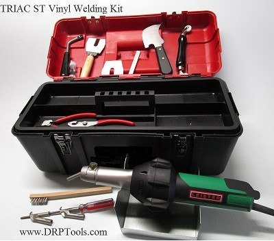 Leister Hot Air Welder - Leister TRIAC ST Vinyl Welder Kit