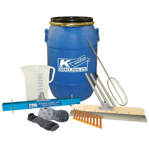 Concrete Tool - Self-Leveling Tool Kit W/ Gauge Pins