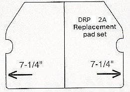 Superior Tile Cutter #2 Replacement Pad Set