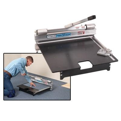 "Crain 675 24"" Carpet Tile Cutter"