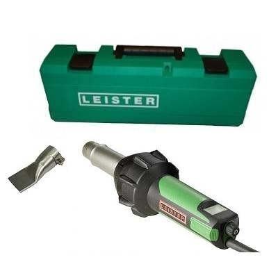 "Vinyl Tools - Leister AT Hot Air Welder With 1-1/2"" And Case"