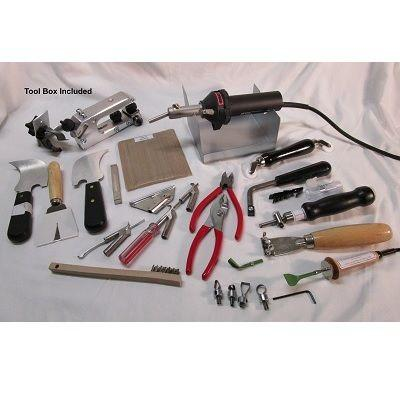 Vinyl Tools - Leister Hot Jet S Wave Pro Welder Kit