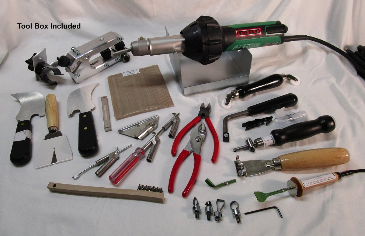 Vinyl Tools - Leister ST Wave Pro Welder Kit