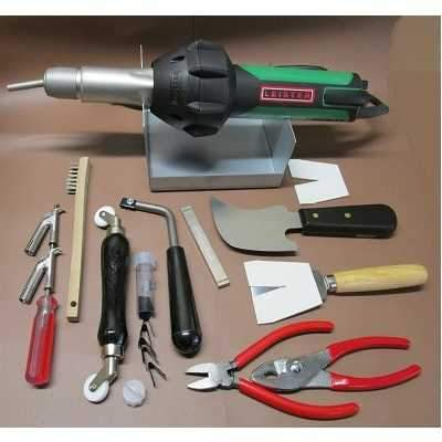 Vinyl Tools - Leister TRIAC ST Hot Air Vinyl Welder Kit