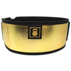 "4"" - ""Going For Gold"" By Mattie Rogers Straight Weightlifting Belt"