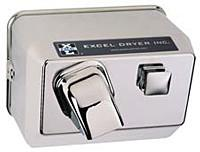 Hands On® Surface Mounted Hand Dryer - Chrome #76C