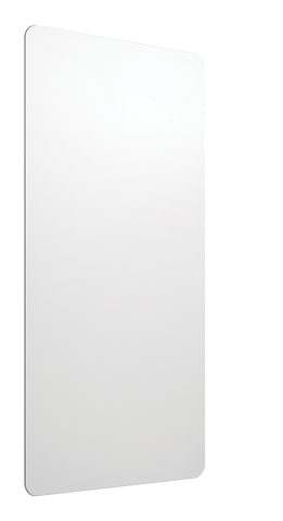 XLERATOR® Anti-Microbial Wall Guards Xlerator® Accessory Excel Dryer MICROBAN ® Wall Guard-White