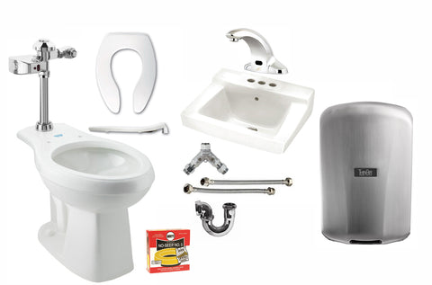 ADA/Touch Free Restroom Bundle