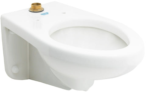 AMTC Wall Hung ADA High Efficiency Flush Valve Bowl #AUT-1012W