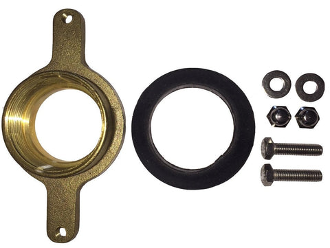 "2""Brass Flange Set for Waterless Urinals #5001"