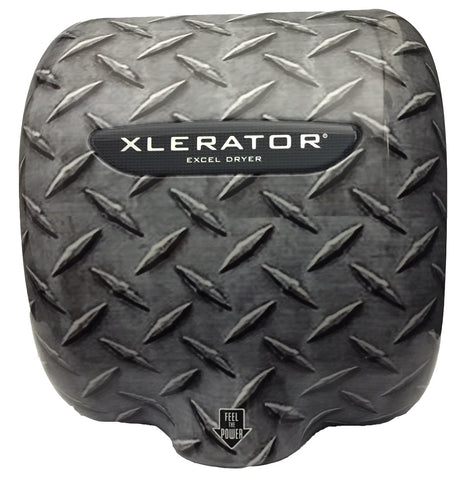 XLERATOR® Hand Dryer Diamond Plate Image Cover XLSI-DPLATE