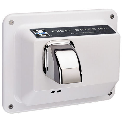 Hands Off® Series Surface Mounted Hand Dryer - White HOIW -110v