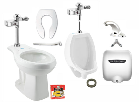 Men's ADA/ Touch Free Restroom Bundle