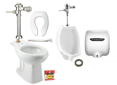 Men's Manual Restroom Bundle