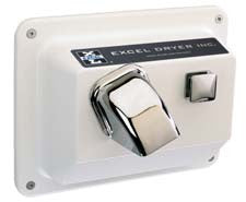 Hands On® Recessed Hand Dryer - White #R76W