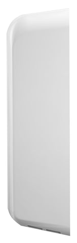 ThinAir® Hand Dryer, Surface Mounted, ADA-Compliant - White ABS - Side View