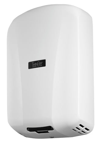 ThinAir® Hand Dryer, Surface Mounted, ADA-Compliant - White ABS #TAAB
