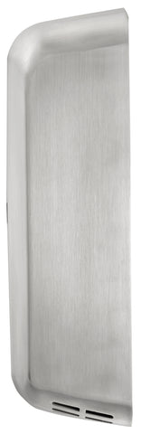 ThinAir® Hand Dryer, Surface Mounted, ADA-Compliant - Stainless Steel - Side View