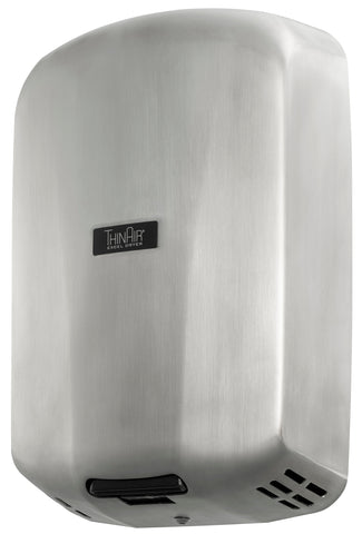 ThinAir® Hand Dryer, Surface Mounted, ADA-Compliant - Stainless Steel #TASB
