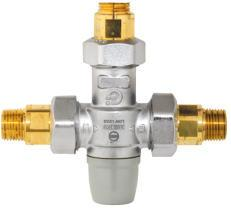 AMTC-TMV, Thermostatic Mixing Valve for Hot/Cold Water Mixing