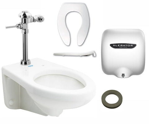 Wall Hung Manual Restroom Bundle