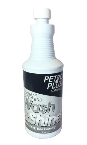 Petron Plus™ Waterless Wash & Shine 32oz  #58554