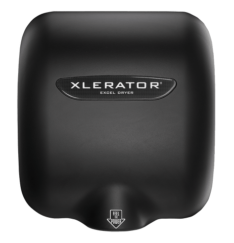 XLERATOR® Hand Dryer Raven Black- XLRB  -110/120v