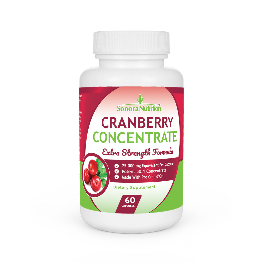 Cranberry Extra Strength - 60 Capsules