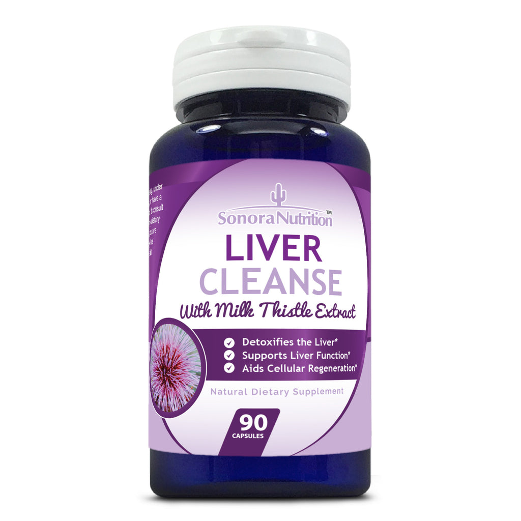 Liver Cleanse with Milk Thistle - 90 Capsules