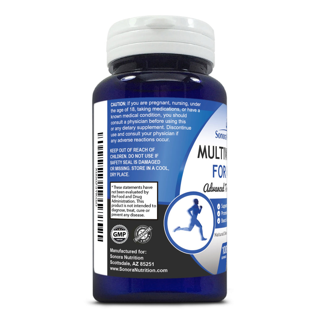 Multivitamin for Men - 100 Capsules