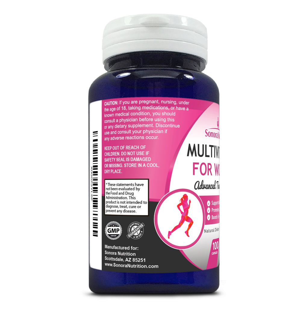 Multivitamin for Women - 100 Capsules