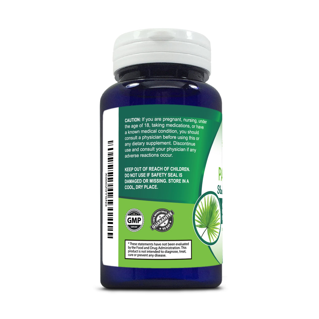 Saw Palmetto Standardized Extract - 100 Capsules